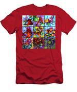 Floral Air Men's T-Shirt (Athletic Fit)