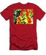 Flower Flames Men's T-Shirt (Athletic Fit)