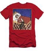 Four Humors: Melancholia Men's T-Shirt (Athletic Fit)