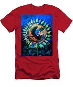 Girasol De La Noche Men's T-Shirt (Athletic Fit)
