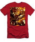 Gold Art Men's T-Shirt (Athletic Fit)