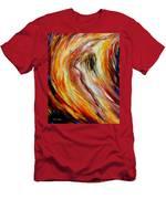 Gold Falls Men's T-Shirt (Athletic Fit)