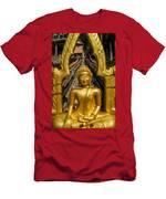 Golden Buddhas Men's T-Shirt (Athletic Fit)
