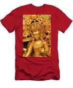 Golden Sculpture Men's T-Shirt (Athletic Fit)
