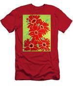 Grace Flowers Men's T-Shirt (Athletic Fit)