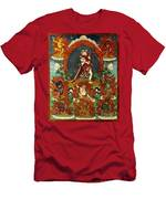 Guhya Sadhana Avalokiteshvara Gyalwa Gyatso  Men's T-Shirt (Athletic Fit)