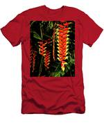 Hawaiian Heliconia Men's T-Shirt (Athletic Fit)