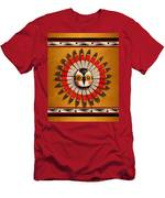 Hopi Owl Mask Men's T-Shirt (Athletic Fit)