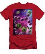 Immune Response Cytotoxic 4 Men's T-Shirt (Athletic Fit)