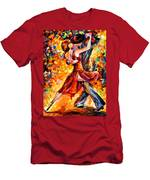 In The Rhythm Of Tango Men's T-Shirt (Athletic Fit)