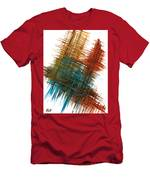 Intensive Abstract Painting 710.102610 Men's T-Shirt (Athletic Fit)