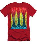 Island Three Trees Men's T-Shirt (Athletic Fit)