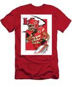 Jamaal Charles Kansas City Chiefs Oil Art Men's T-Shirt (Athletic Fit)