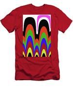 Jancart Drawing Abstract #8455pc Men's T-Shirt (Athletic Fit)
