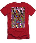 Jancart Drawing Abstract #8455pcws Men's T-Shirt (Athletic Fit)