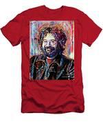 Jerry Garcia Art - The Grateful Dead Men's T-Shirt (Athletic Fit)