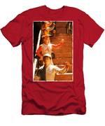 Jockeys Waiting Men's T-Shirt (Athletic Fit)