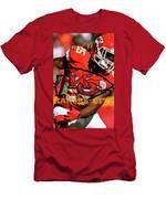 Kareem Hunt, Kansas City Chiefs Men's T-Shirt (Athletic Fit)