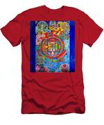 Karuna Mandala Men's T-Shirt (Athletic Fit)