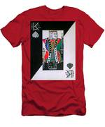 King Of Spades Men's T-Shirt (Athletic Fit)