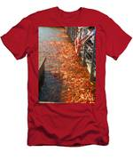 Koi Fishes In Feeding Frenzy Part Two Men's T-Shirt (Athletic Fit)
