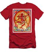 Kurukulla Tsagli  Men's T-Shirt (Athletic Fit)