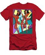 Ladys In Red Men's T-Shirt (Athletic Fit)