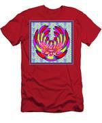 Lotus Flower Stunning Colors Abstract  Artistic Presentation By Navinjoshi Men's T-Shirt (Athletic Fit)