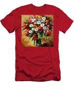 Lovely Bouquet Men's T-Shirt (Athletic Fit)