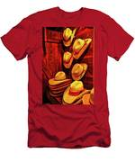 Luckenbach Hats Hdr Men's T-Shirt (Athletic Fit)