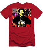 Ma Jaya Sati Bhagavati 8 Men's T-Shirt (Athletic Fit)
