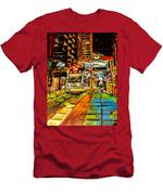 Main Street Square Men's T-Shirt (Athletic Fit)