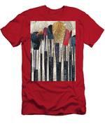 Make Up Brush Men's T-Shirt (Athletic Fit)