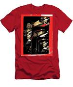 Mannequin Collage Jerome Arizona 1968-2013 Men's T-Shirt (Athletic Fit)