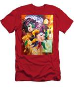Mardi Gras Images Men's T-Shirt (Athletic Fit)