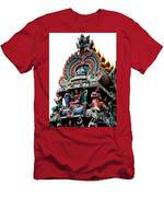 Mariamman Temple Detail 3 Men's T-Shirt (Athletic Fit)