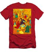 Mary Well Nativity Men's T-Shirt (Athletic Fit)