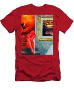 Memoirs Of A Bloody Sunset Men's T-Shirt (Athletic Fit)