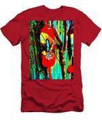 Mike's Art Fence 128 Men's T-Shirt (Athletic Fit)