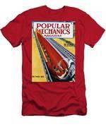 Monorail, C1940 Men's T-Shirt (Athletic Fit)