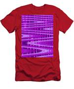 Moveonart Abstract Waves And Light II Men's T-Shirt (Athletic Fit)
