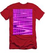 Moveonart Abstract Waves And Light Six Men's T-Shirt (Athletic Fit)