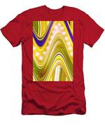 Moveonart Wave Of Enlightenment Four Men's T-Shirt (Athletic Fit)