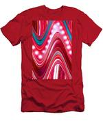 Moveonart Wave Of Enlightenment Three Men's T-Shirt (Athletic Fit)