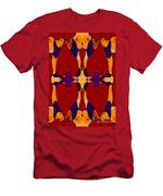 My Love Is Alive Abstract Bliss Art By Omashte Men's T-Shirt (Athletic Fit)