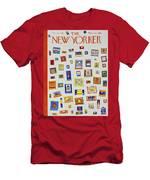 New Yorker December 13 1958 Men's T-Shirt (Athletic Fit)