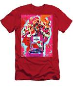 No 5 Pink Colored Men's T-Shirt (Athletic Fit)