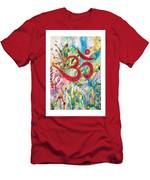 Om In Nature Men's T-Shirt (Athletic Fit)