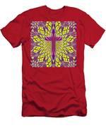 Ornamental Cross Men's T-Shirt (Athletic Fit)