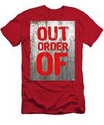 Out Of Order Men's T-Shirt (Athletic Fit)
